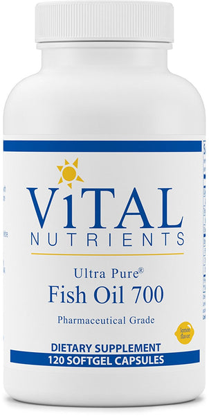Vital Nutrients | Ultra Pure Fish Oil 700 | 120 Soft Gels