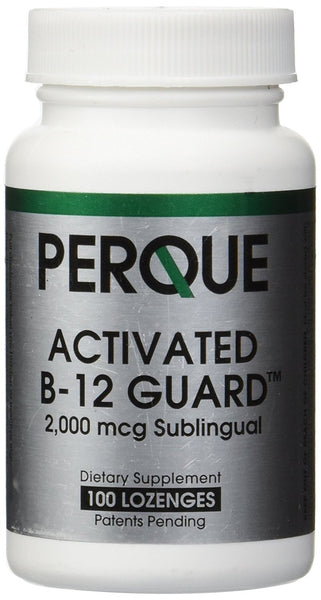 Perque | Activated B-12 Guard 2000 mcg | 100 Lozenges