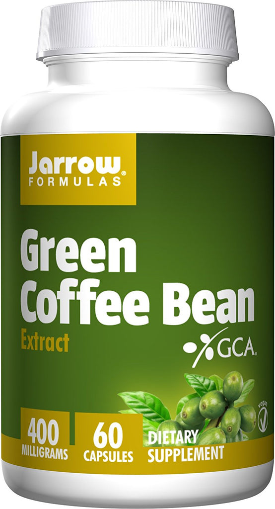 Jarrow Formulas | Green Coffee Bean Extract 400 mg | 60 Capsules