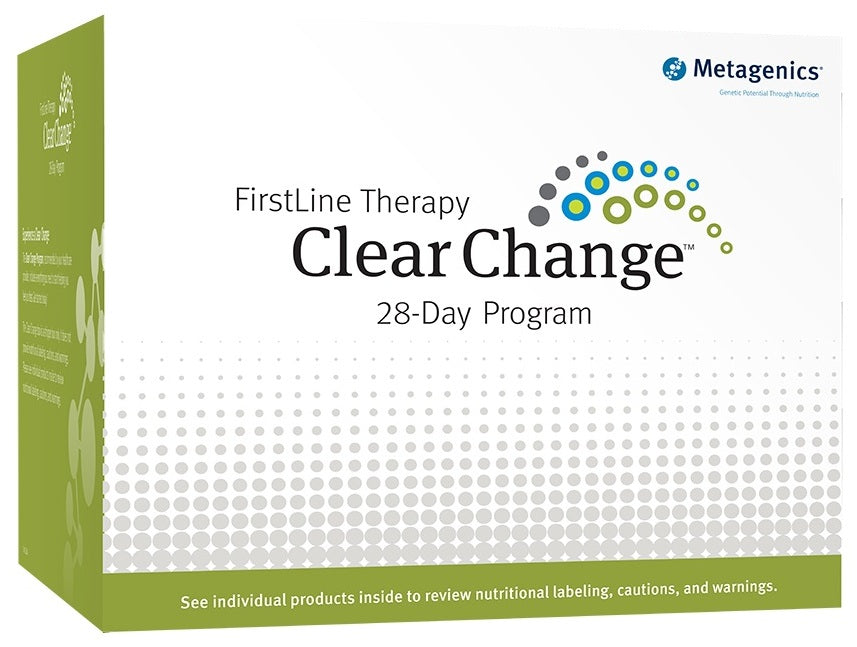 Metagenics | Clear Change® 28 Day Program with UltraClear® RENEW | Vanilla Flavor