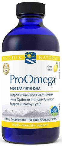 Nordic Naturals | ProOmega Liquid (Lemon) | 8 Ounces