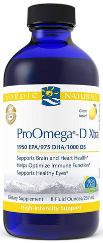 Nordic Naturals | ProOmega-D Xtra Liquid | 8 Ounces