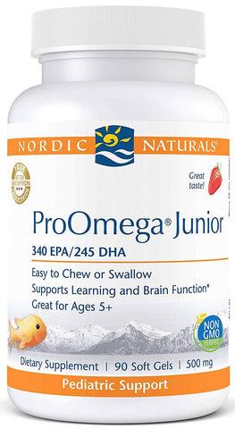 Nordic Naturals | ProOmega Junior (Strawberry) | 90 Softgels
