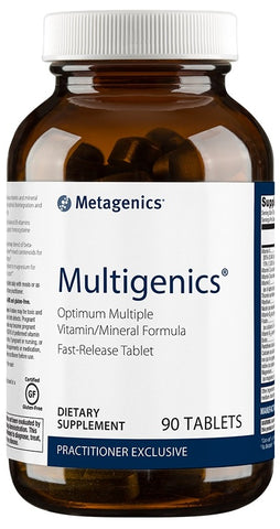 Metagenics | Multigenics® without Iron | 90 - 180 Tablets