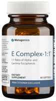 Metagenics | E Complex-1:1™ | 60 - 180 Softgels