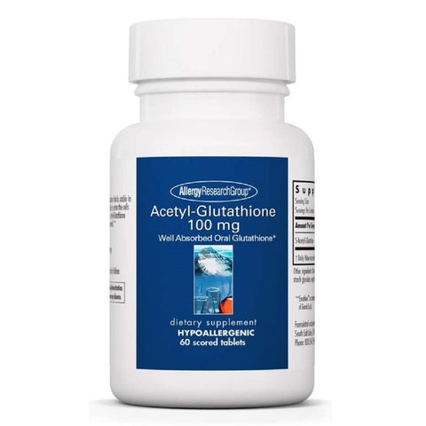 Acetyl-Glutathione 100 mg | 60 Scored Tablets - Agape Nutrition