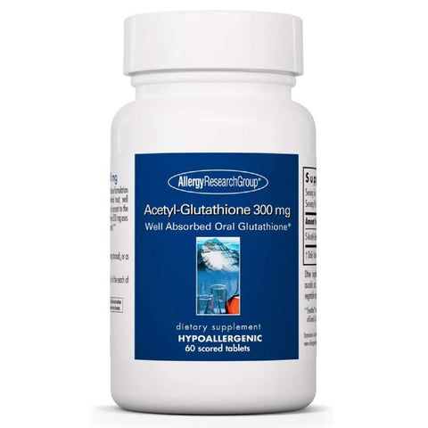Acetyl-Glutathione 300 mg | 60 Scored Tablets