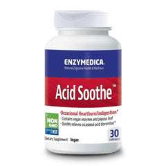 Enzymedica | Acid Soothe | 30 - 90 Capsules
