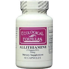 Ecological Formulas | Allithiamine 50mg | 60 - 250 Capsules
