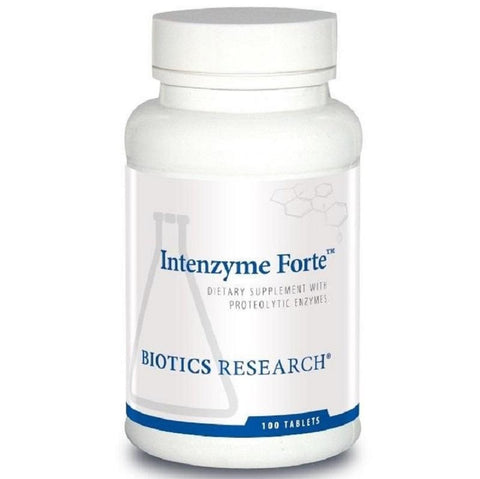 Biotics Research | Intenzyme Forte™ | 100 Tablets