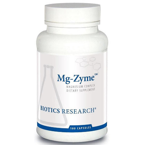 Biotics Research | Mg-Zyme™ | 100 Capsules