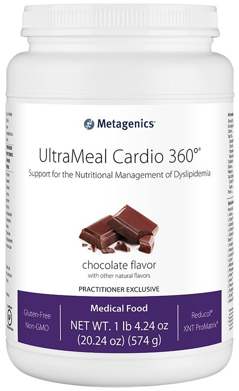 Metagenics | UltraMeal Cardio 360°® Pea & Rice Protein Chocolate | 14 Servings