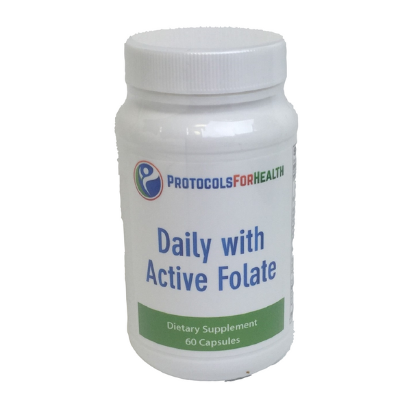 Daily With Active Folate | 60 Capsules - Agape Nutrition