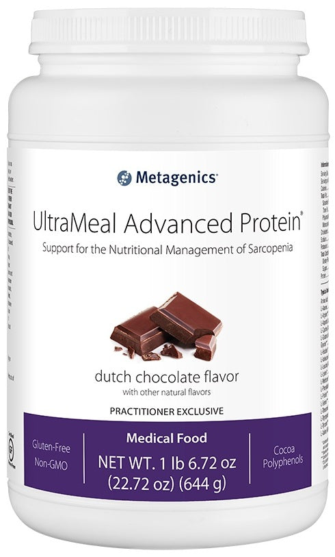 Metagenics | UltraMeal Advanced Protein® Dutch Chocolate | 14 Servings