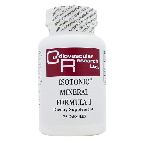 Ecological Formulas | Isotonic Mineral Formula | 75 Capsules