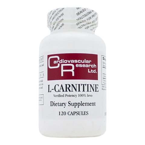Ecological Formulas | L-Carnitine 250mg | 120 Capsules