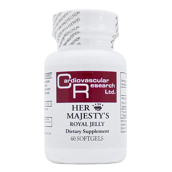 Ecological Formulas | Her Majesty's Royal Jelly 500mg | 60 Softgels