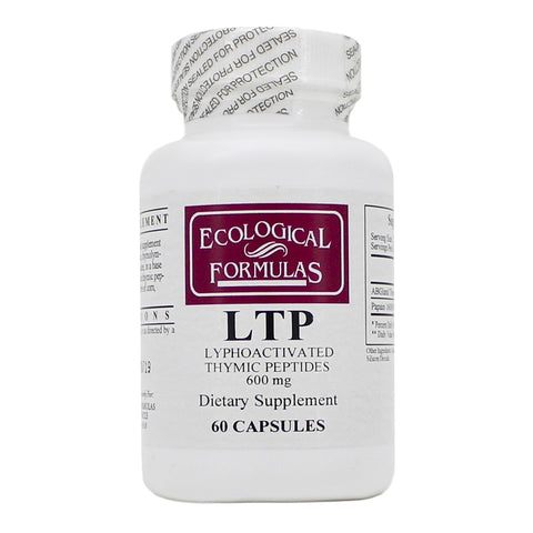 Ecological Formulas | LTP (Lyphoactivated Thymic Peptides) | 60 Capsules
