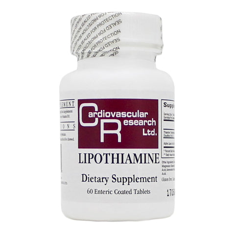 Ecological Formulas | Lipothiamine | 60 Enteric Coated Tablets