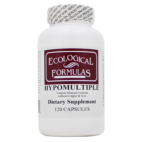 Ecological Formulas | Hypomultiple without Cu/Fe | 120 Capsules