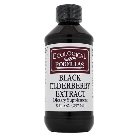 Ecological Formulas | Black Elderberry Extract Liquid | 8 oz