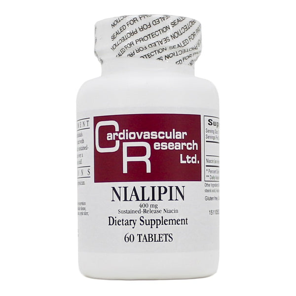 Ecological Formulas | Nialipin 400mg | 60 Tablets