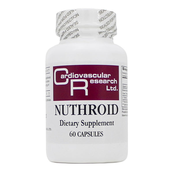 Ecological Formulas | Nuthroid | 60 Capsules