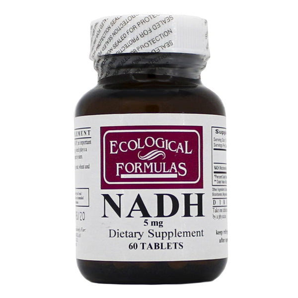 Ecological Formulas | NADH 5mg | 60 - 120 Tablets