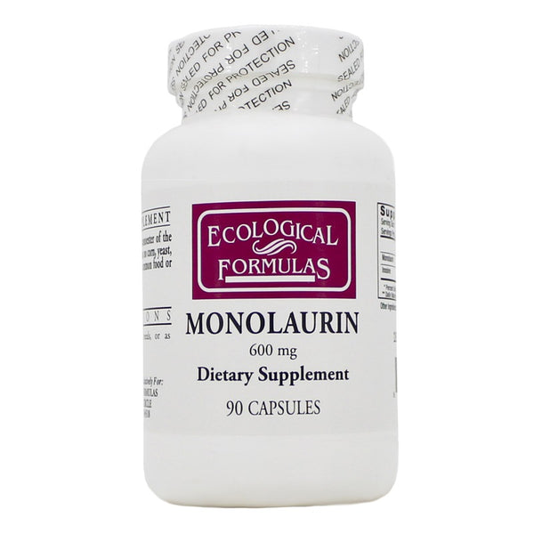 Ecological Formulas | Monolaurin 600mg | 90 Capsules
