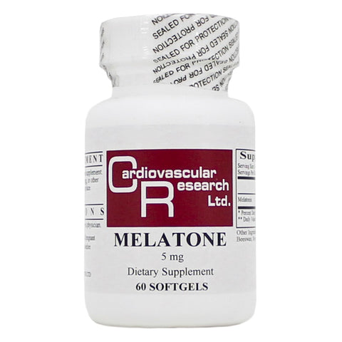 Ecological Formulas | Melatone 5mg | 60 Softgels
