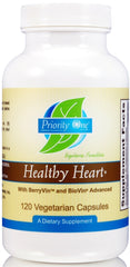 Priority One | Healthy Heart with BerryVin® and BioVin® | 120 Vegetarian Capsules