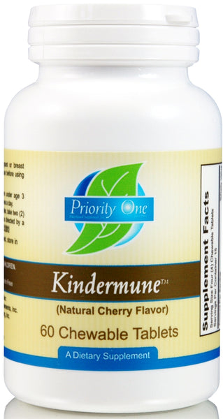 Priority One | Kindermune | 60 Chewable Tablets