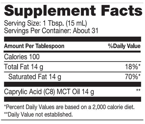 Dr. Mercola | Ketone Energy MCT Oil | 16 Ounces