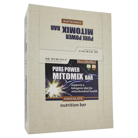 Dr. Mercola | Chocolate Mitomix Bars | 12 Bars