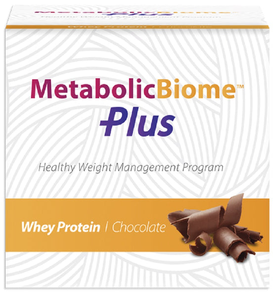 MetabolicBiome Plus - Whey Protein Chocolate 16 Packets