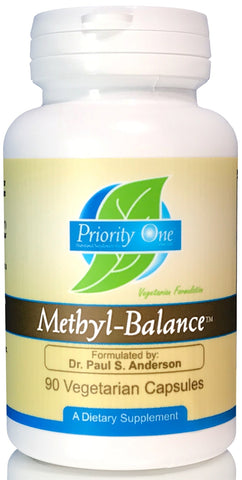 Priority One | Methyl-Balance | 90 Vegetarian Capsules
