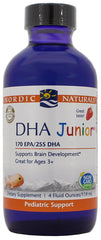 Nordic Naturals | DHA Junior Liquid (Strawberry) | 4 Ounces