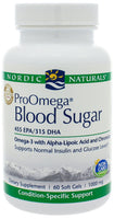 Nordic Naturals | ProOmega Blood Sugar | 60 Softgels