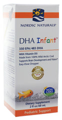 Nordic Naturals | DHA Infant w/ D3 Liquid | 60 mL