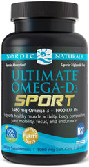 Nordic Naturals | Ultimate Omega-D3 Sport | 60 Softgels