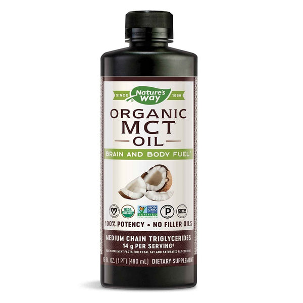 Nature's Way | 100% MCT Oil | 16 oz