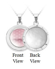 PHI energyDots | Encoded Pendant - Sterling Silver | 20 Inch Chain
