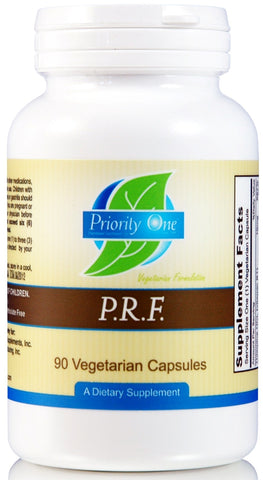 Priority One | P.R.F. | 90 Vegetarian Capsules