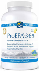 Nordic Naturals | ProEFA-3.6.9. Lemon | 90 - 180 Softgels - 180 Softgels