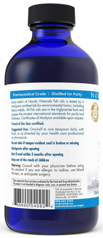 Nordic Naturals | ProEFA-3.6.9. Lemon Liquid | 8 Ounces