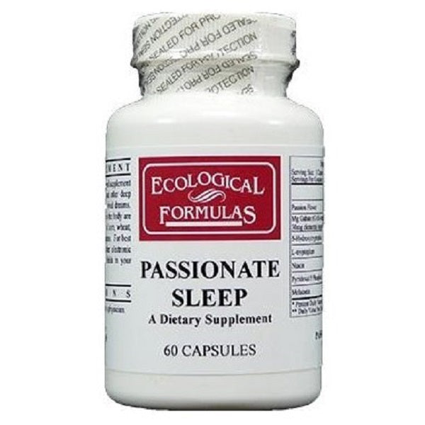 Ecological Formulas | Passionate Sleep | 60 Capsules