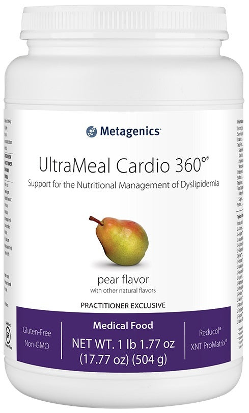Metagenics | UltraMeal Cardio 360°® Pea & Rice Protein Pear | 14 Servings