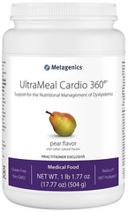 Metagenics | UltraMeal Cardio 360°® Pea & Rice Pear | 14 Servings