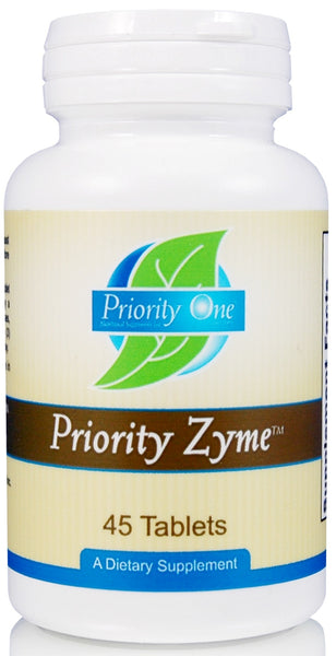 Priority One | Priority Zyme | 45 Tablets