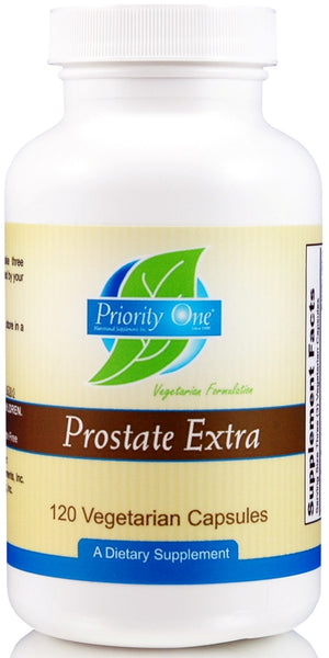 Priority One | Prostate Extra | 120 Vegetarian Capsules